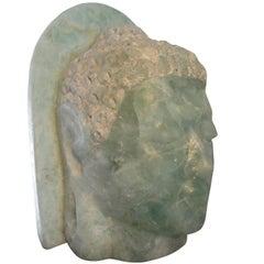 20th Century Folded Glass Buddha
