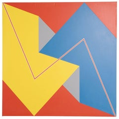 Large Geometric Painting
