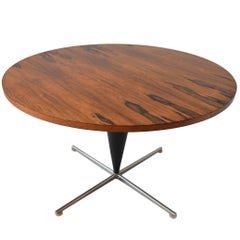 Unusual Verner Panton Cone Table in Rosewood