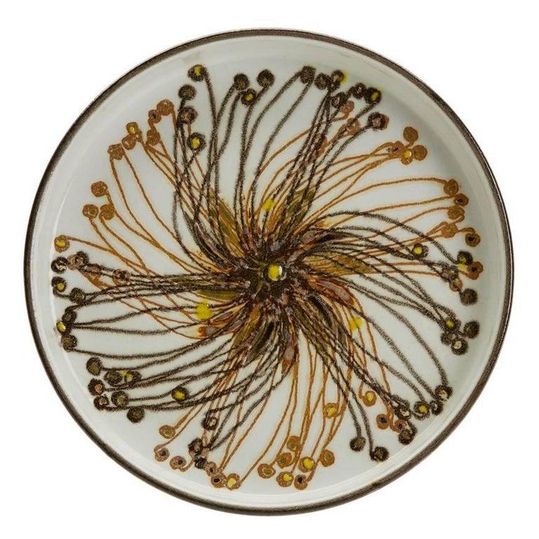 Vintage Royal Copenhagen Faience Dish by Ellen Malmer