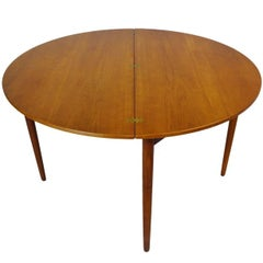 1956 Poul M. Volther Drop-Leaf Midcentury Dining/Console Table for Frem Røjle