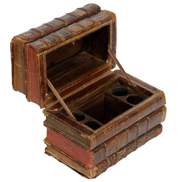 Rare French Mid-19th Century Book Hide, circa 1850