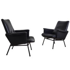 Pair of Pierre Guariche SK660 Armchairs, France, circa 1955