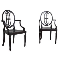 Pair of Chairs from a Yacht , circa 1910