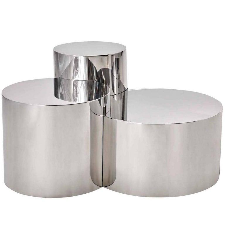 "Gaspare Asaro Limited Edition Coffee Table ""Geometria: Cerchi #1"" , Italy, 2014"