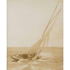 Early Silver Gelatin Photographic Print by Beken of Cowes, Yacht Solde