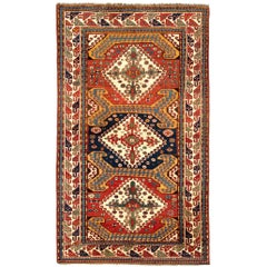 Exceptional Antique Caucasian Karabagh Chelaberd Rug