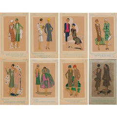 French Fashion Plates