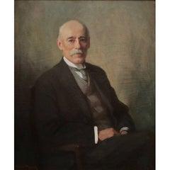 Orlando Rouland's Portrait of Dr. Albert Reid LeDoux, Oil on Canvas