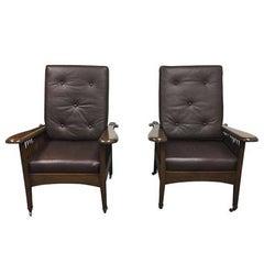 Pair of Paul Ferrante Morris Chairs
