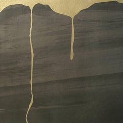 Satori Mountain Wallpaper or Wall Mural in Warm Gray on Dutch Leaf