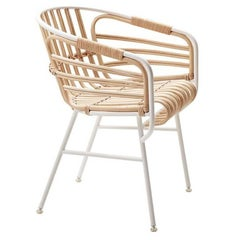 Raphia Outdoor Dining Chair by Lucidipevere