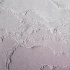 Snarkitecture Topographies Desert Wallpaper in Matte Pink Gradient