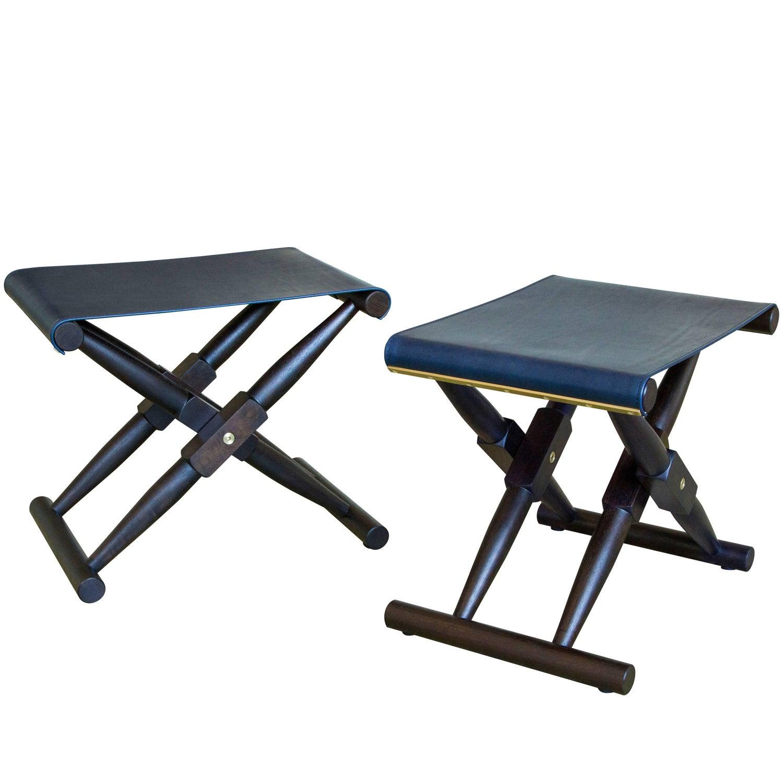 Peachy Matthiessen Folding Purse Stool In Macassar Stained Walnut Creativecarmelina Interior Chair Design Creativecarmelinacom