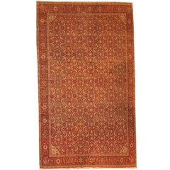 Handmade Antique Indian Amritsar Oriental Rug, 1900s