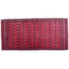 Handmade Vintage Turkmen Tekke Oriental Rug, 1970s, 1C207