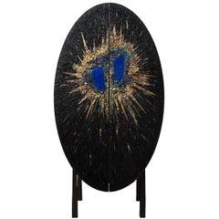 Béatrice Serre 2017, Unique Meteor, Lapis Lazuli Cabinet