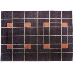 Geometric Box Pattern Rug
