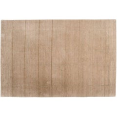 Tone on Tone Rug with Square Details