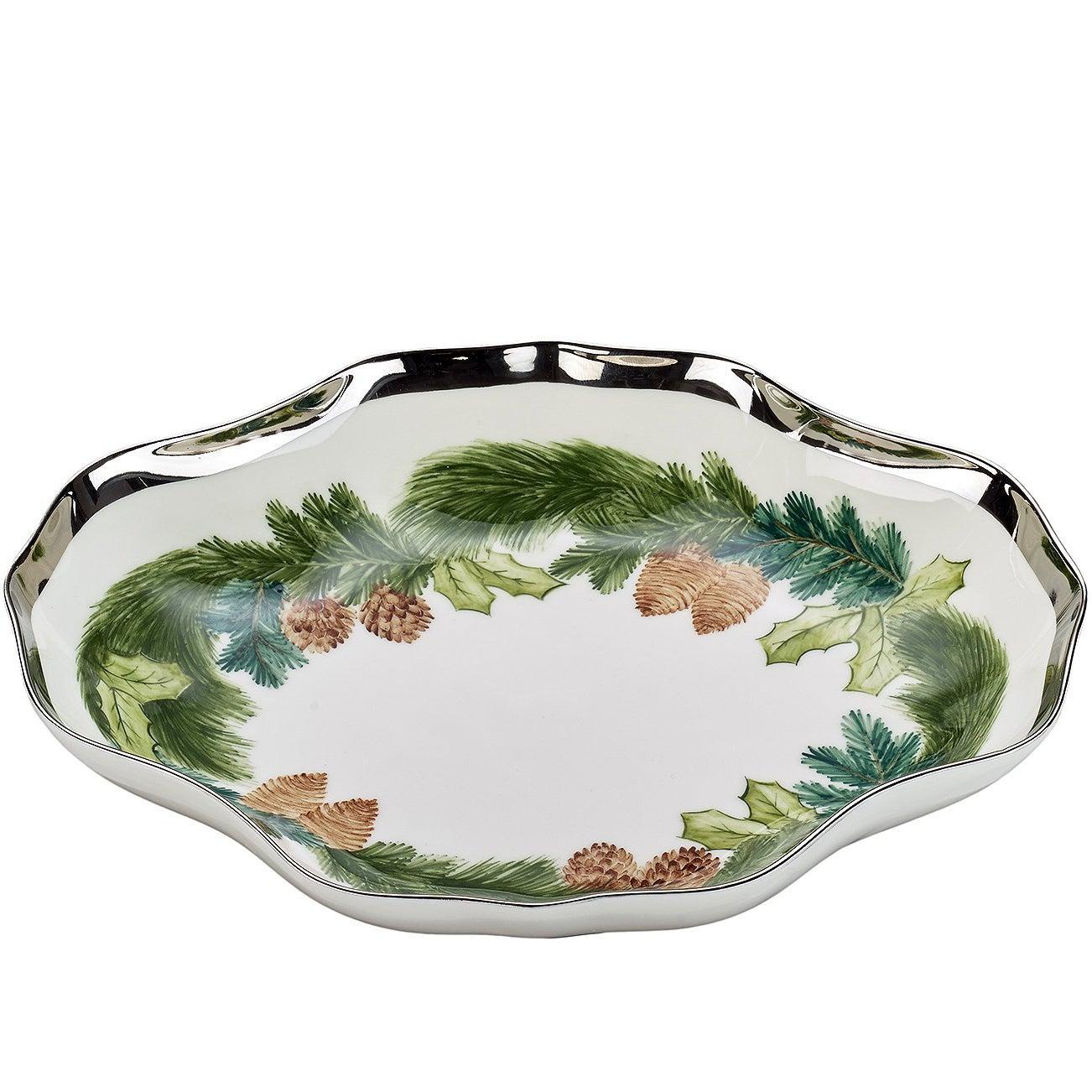 Black Forest  Porcelain Dish Christmas Garland Sofina Boutique Kitzbuehel