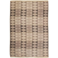 Swedish Flat-Weave Double Sided Rug