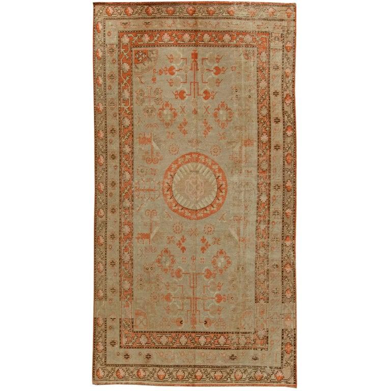 Vintage Samarkand Rug At 1stdibs