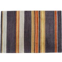 Charcoal Stripe Rug