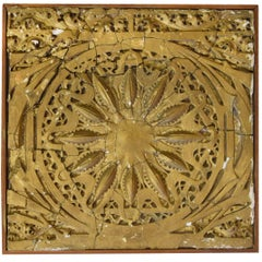 Louis Sullivan Designed Panel from the Garrick Theater by Adler and Sullivan