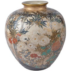 Large and Impressive Japanese Satsuma Vase