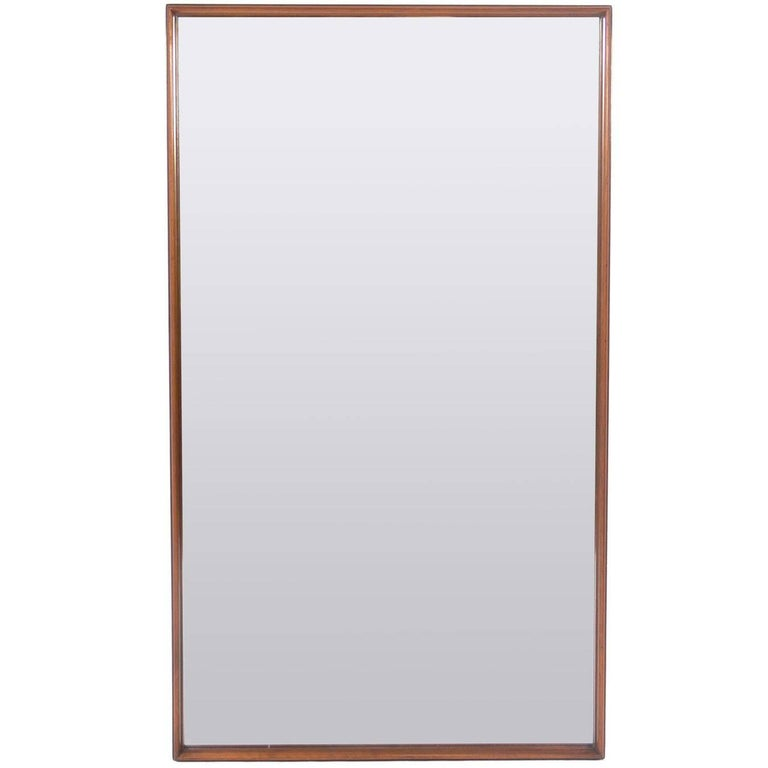 Clean Lined Modern Mirror by T.H. Robsjohn-Gibbings