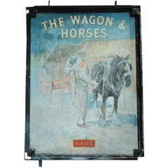 Antique Double Sided Sign