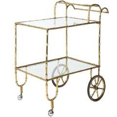 Faux Bamboo Cart