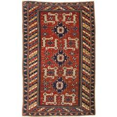 Antique Caucasian Karagashli Shirvan Rug