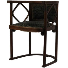 Josef Hoffmann Fledermaus Chair, Model No. 728, J. & J. Kohn 1913