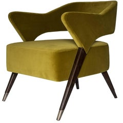 "Exclusive Italian Design 1950s Style ""Monique"" Armchair"