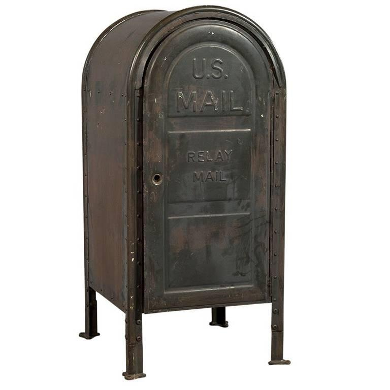Original US Postal Relay Mail Box For Sale