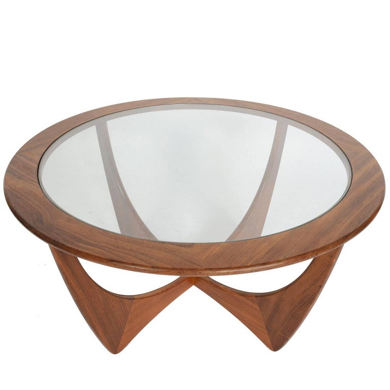 Round G Plan Astro Mid Century Modern Coffee Table In