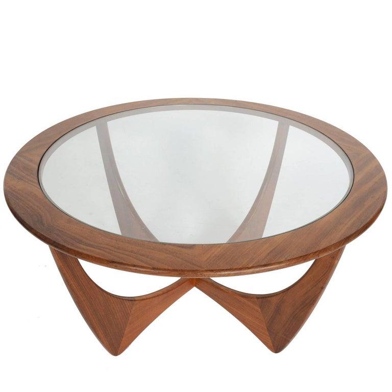 Round G Plan Astro Mid-Century Modern Coffee Table In