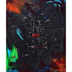 "BK Adams I Am Art ""Communicating a Mystery #31"" Mixed Media"