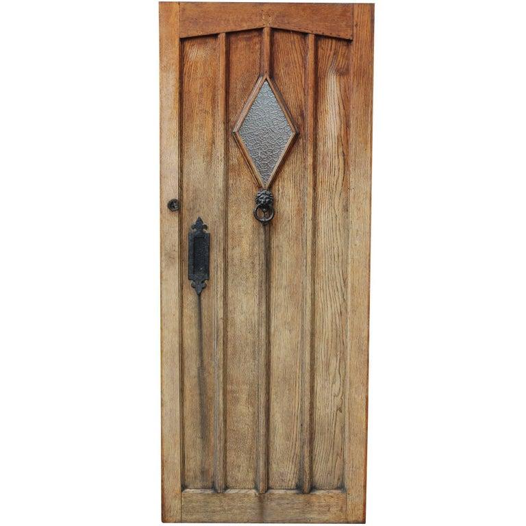 1930s Oak Front Door For Sale At 1stdibs