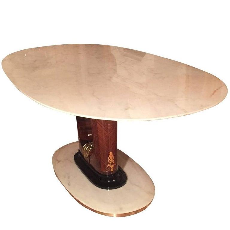 Italian Mid-Century Marble Dining Table, 1950s