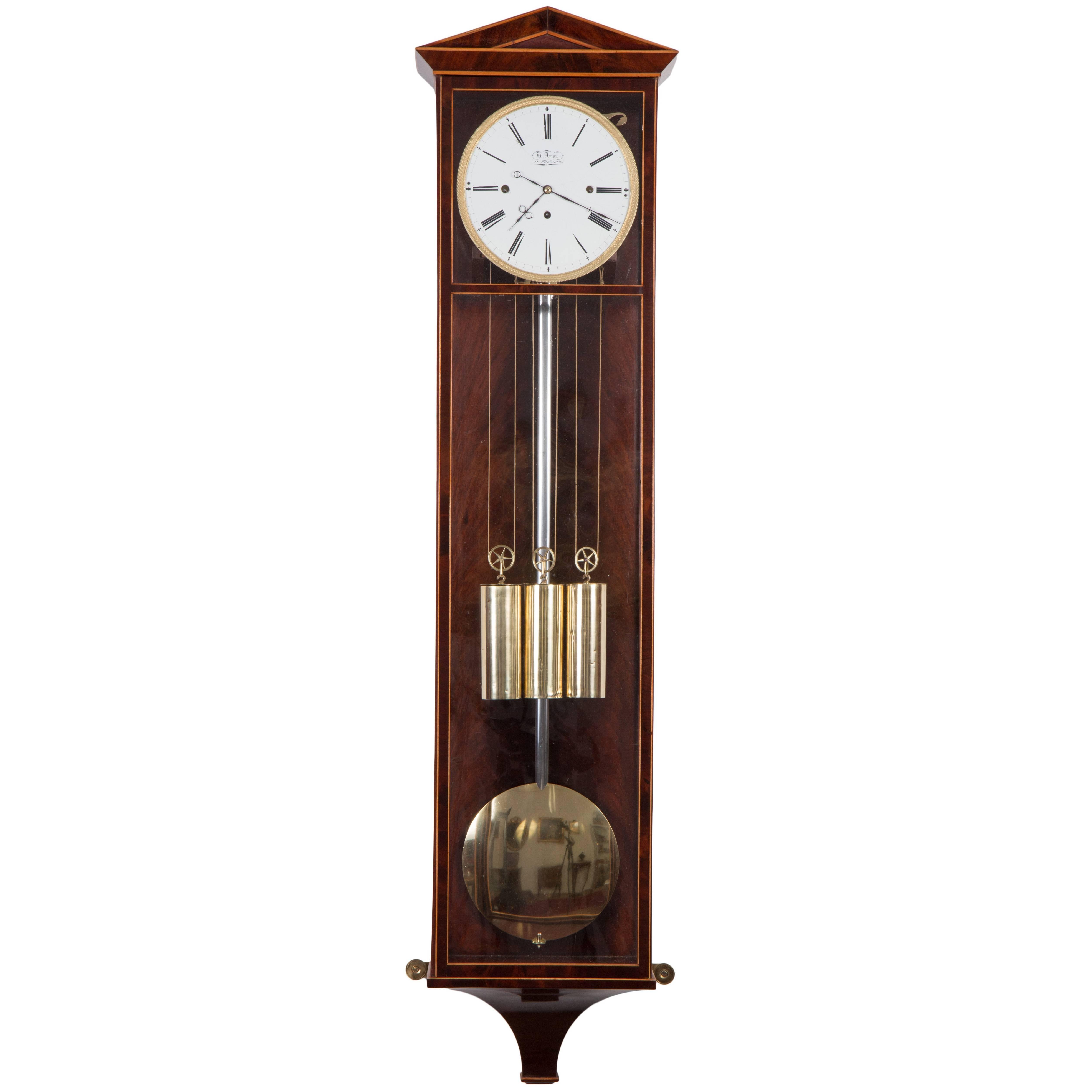 dachl clock by h amon in pressburg bratislava circa