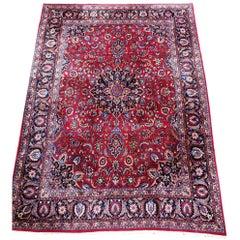 Extra Large Vintage Persian Khorasan Carpet