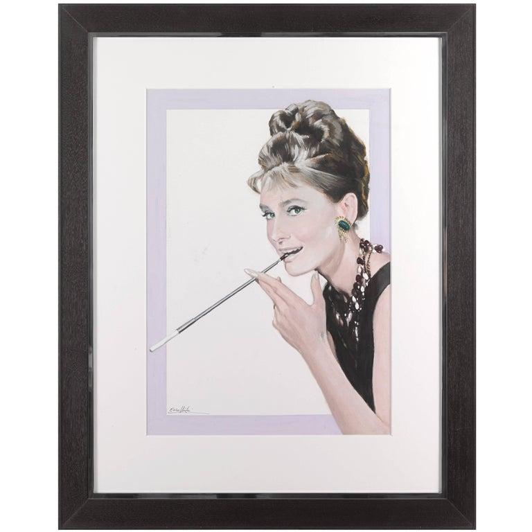 """""""Breakfast at Tiffany's / Colazione Da Tiffany,"""" Original Italian Art work For Sale"""