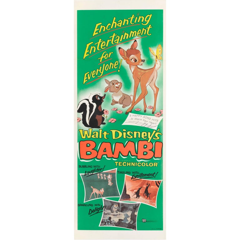 """Bambi"" US Movie Poster"