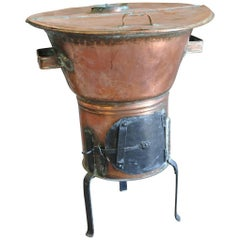 """French 19th Century 'Lessiveuse"""", Clothes Washing Machine"""