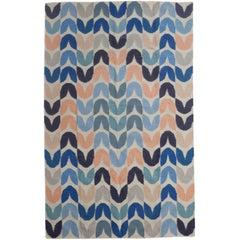 Tulip Flat-Weave Rug in Color Way Belize