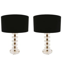 Pair of Table Lamps, Italia, 1960