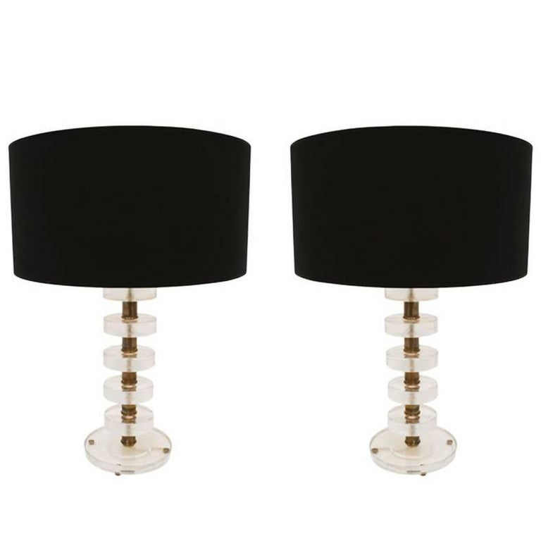 Pair of Table Lamps, Italia, 1960 For Sale