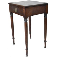 Small Federal or Sheraton Nightstand in Mahogany, circa 1800
